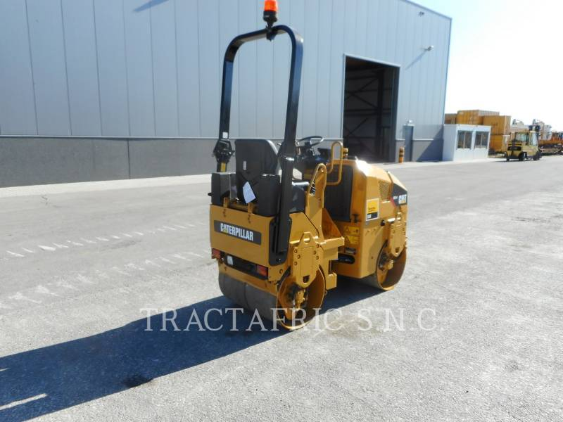 CATERPILLAR TAMBOR DOBLE VIBRATORIO ASFALTO CB14 equipment  photo 3