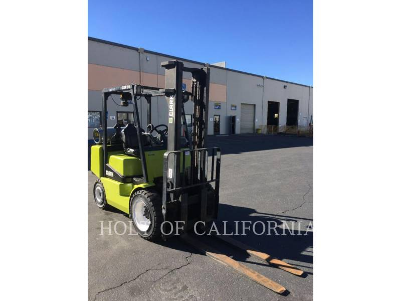 CLARK EQUIPMENT FORKLIFTS CGP30 equipment  photo 1
