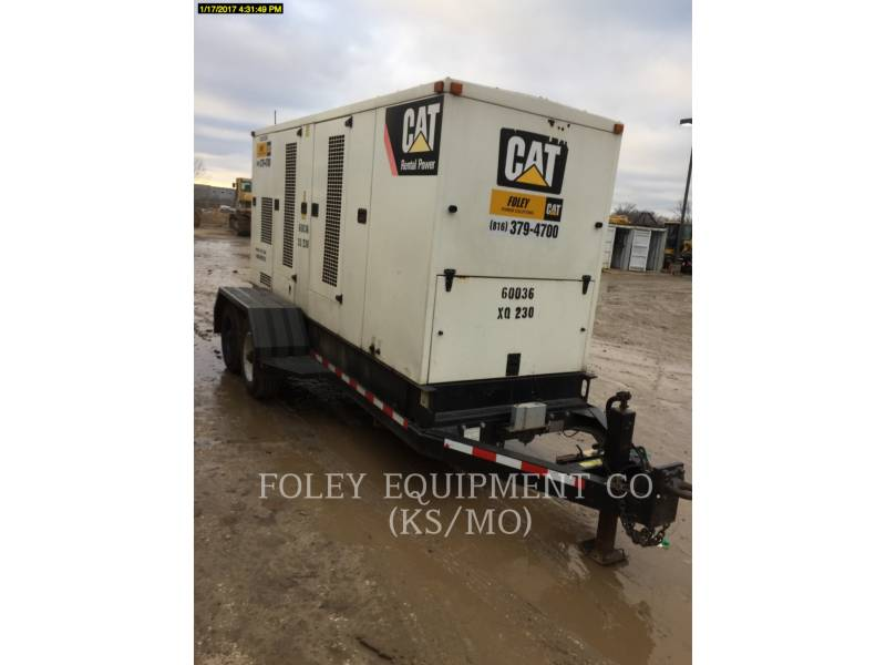 CATERPILLAR PORTABLE GENERATOR SETS XQ230 equipment  photo 4
