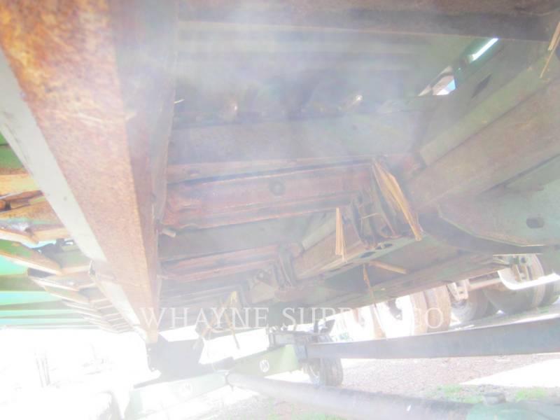JOHN DEERE HERRAMIENTA DE TRABAJO - CABEZAL DE COSECHADORA TRILLADORA 893 equipment  photo 12