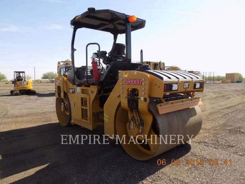 CATERPILLAR VIBRATORY DOUBLE DRUM ASPHALT CB7 equipment  photo 3