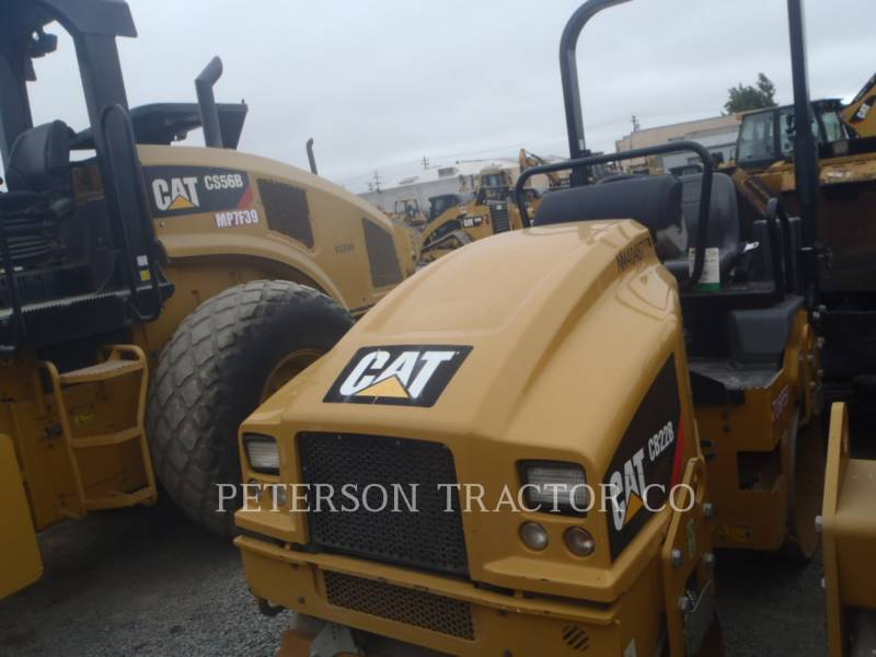 CATERPILLAR PAVIMENTADORA DE ASFALTO CB22B equipment  photo 2