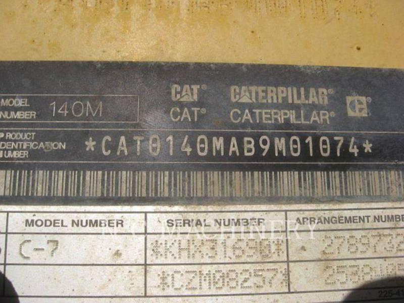CATERPILLAR MOTONIVELADORAS 140M equipment  photo 5