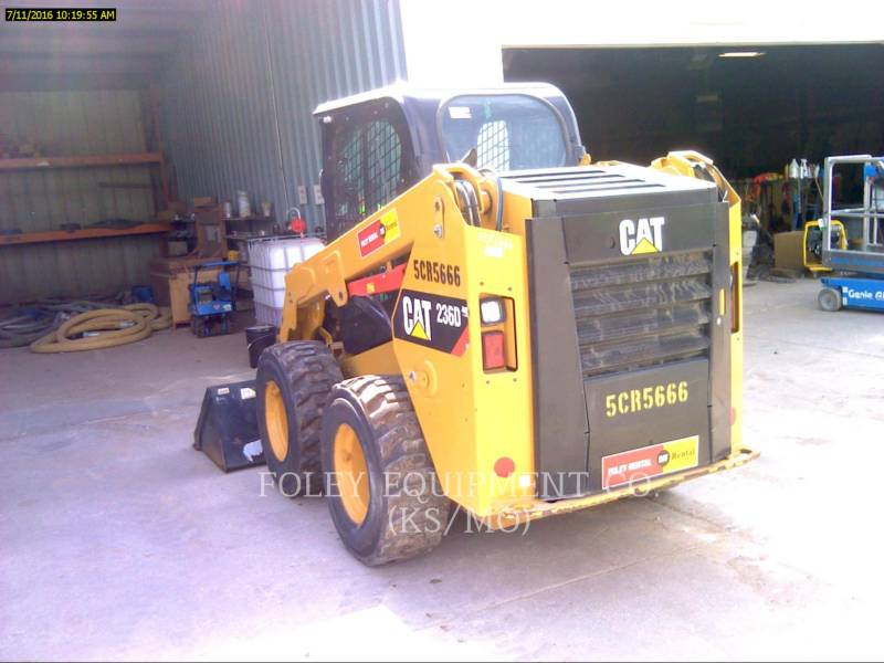 CATERPILLAR SKID STEER LOADERS 236DSTD1CA equipment  photo 4