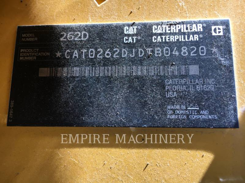 CATERPILLAR KOMPAKTLADER 262D equipment  photo 11