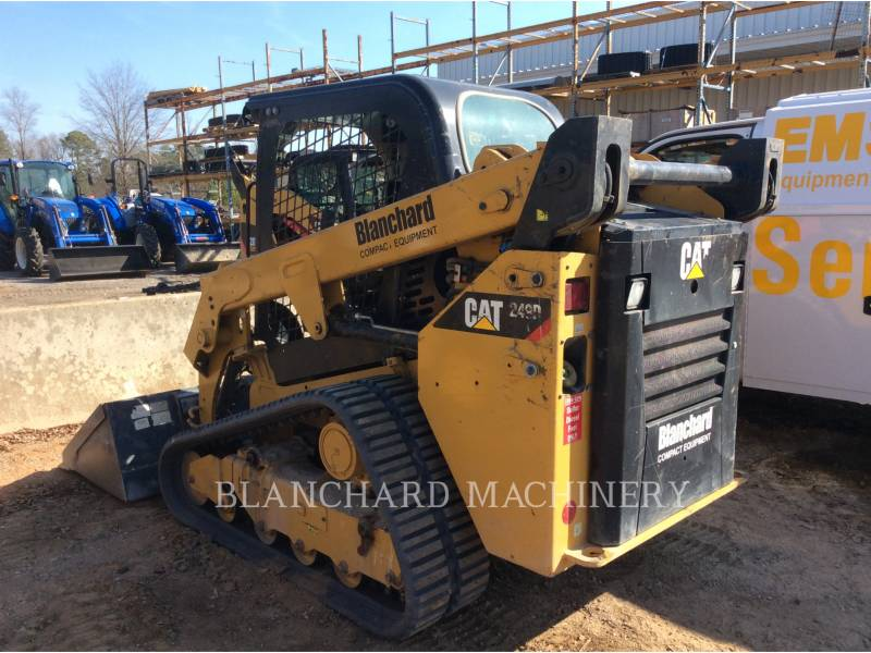 CATERPILLAR MULTI TERRAIN LOADERS 249D equipment  photo 4