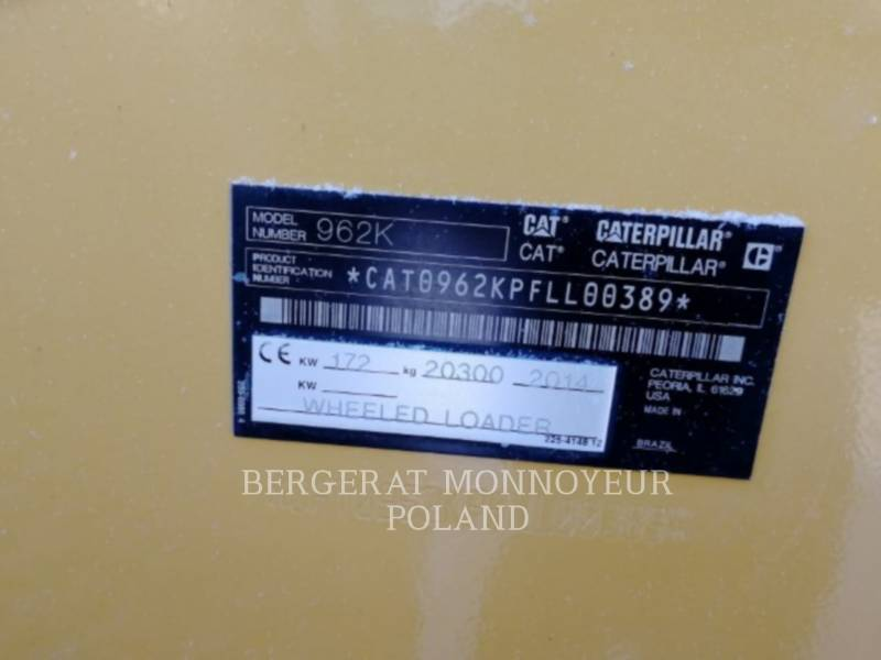 CATERPILLAR INDUSTRIAL LOADER 962K equipment  photo 5