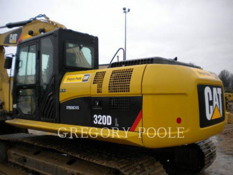 Caterpillar EXCAVATOARE PE ŞENILE 320D L equipment  photo 8