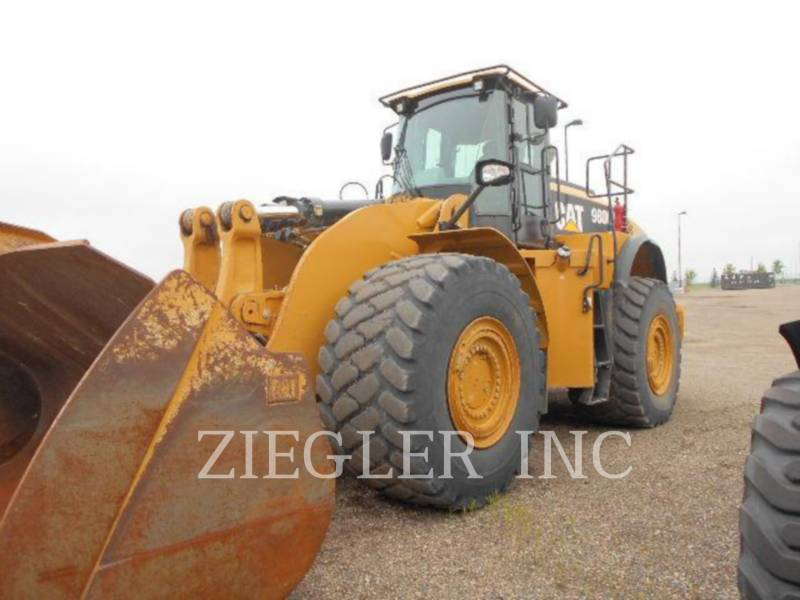 CATERPILLAR WHEEL LOADERS/INTEGRATED TOOLCARRIERS 980K12T equipment  photo 2