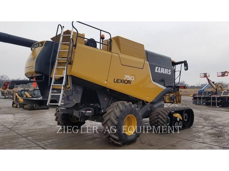LEXION COMBINE COMBINES 750TTHS equipment  photo 5