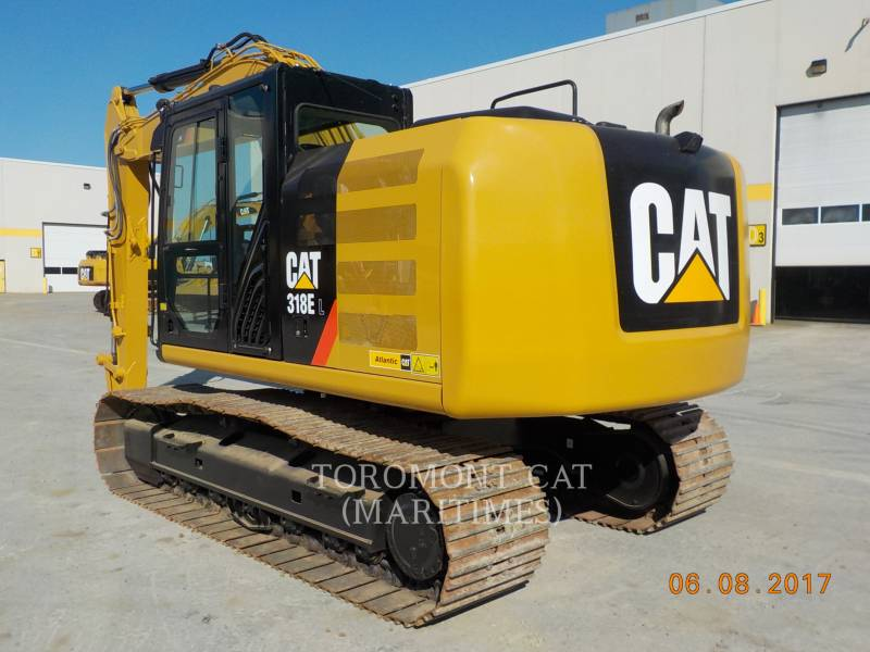 CATERPILLAR トラック油圧ショベル 318EL equipment  photo 5