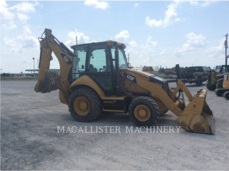 CATERPILLAR GRAAF-LAADCOMBINATIES 420FST equipment  photo 1