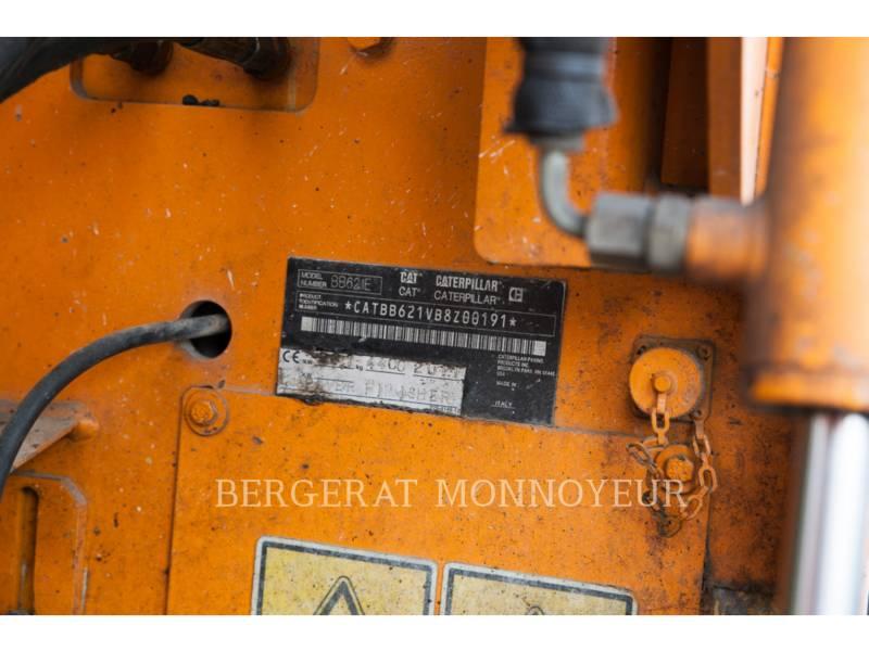CATERPILLAR ASPHALT PAVERS BB621E equipment  photo 4