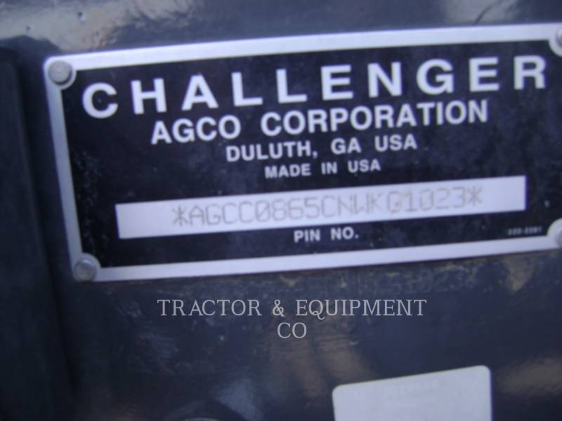 AGCO 農業用トラクタ MT865C equipment  photo 6