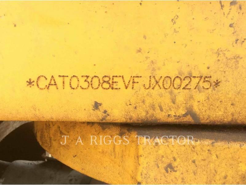 CATERPILLAR KETTEN-HYDRAULIKBAGGER 308E equipment  photo 24