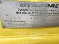 DYNAPAC VERDICHTER CA121PD equipment  photo 5