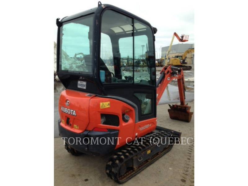 KUBOTA CORPORATION EXCAVADORAS DE CADENAS KX018-4 equipment  photo 8