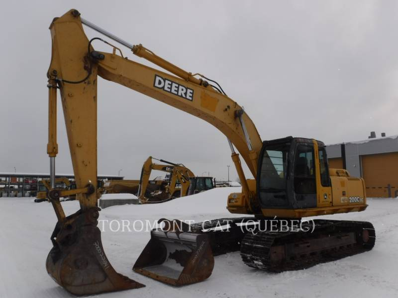 JOHN DEERE TRACK EXCAVATORS 200C equipment  photo 1