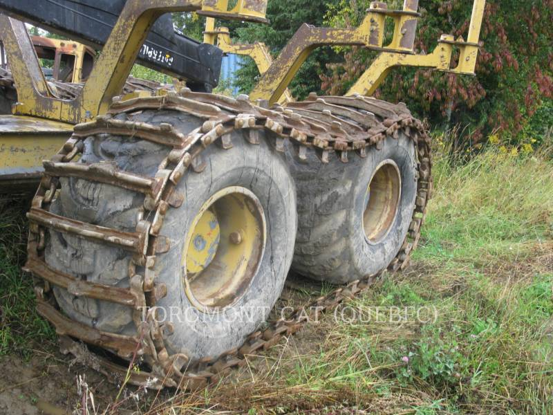 CATERPILLAR FORSTWIRTSCHAFT - FORWARDER 584HD equipment  photo 7