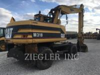 CATERPILLAR PELLES SUR PNEUS M318 equipment  photo 3