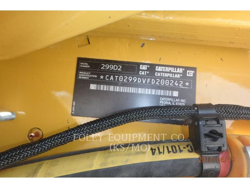CATERPILLAR MINICARGADORAS 299D2XPS2C equipment  photo 6