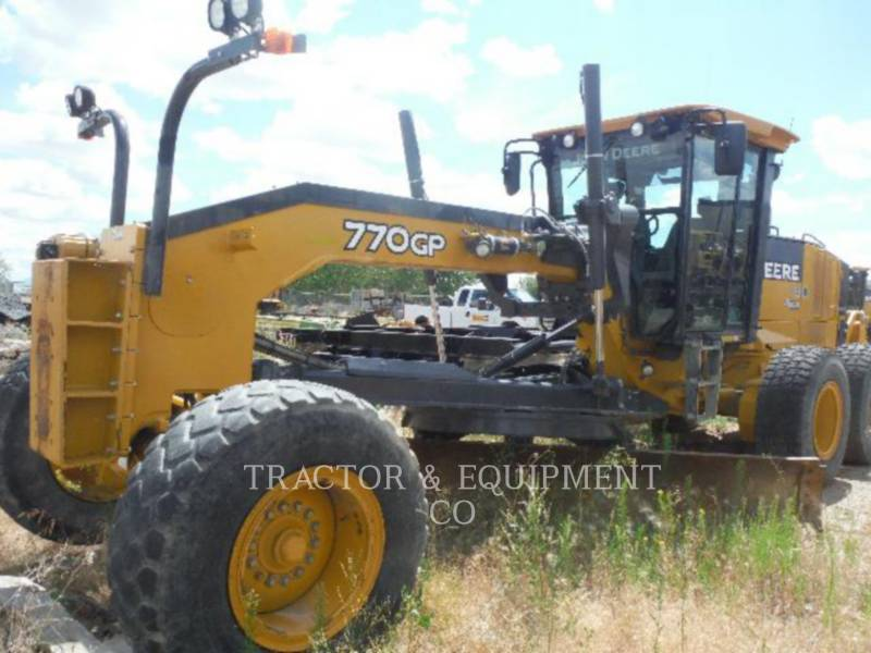JOHN DEERE MOTONIVELADORAS 770GP equipment  photo 1