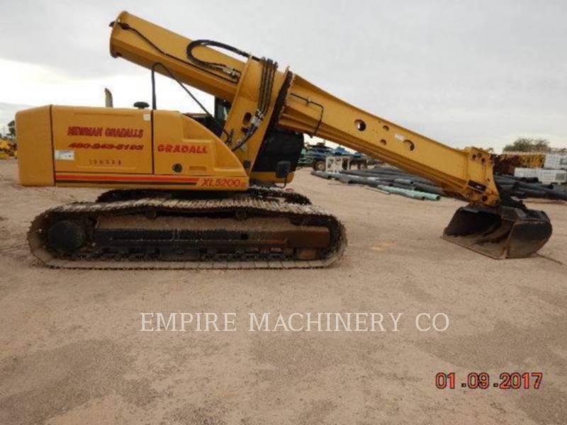 GRADALL COMPANY PELLES SUR CHAINES XL5200 equipment  photo 1