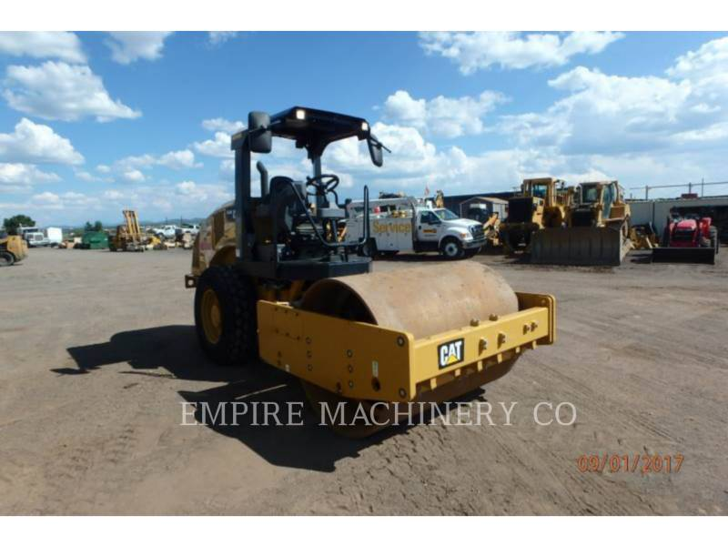 CATERPILLAR VIBRATORY SINGLE DRUM PAD CS44B equipment  photo 1