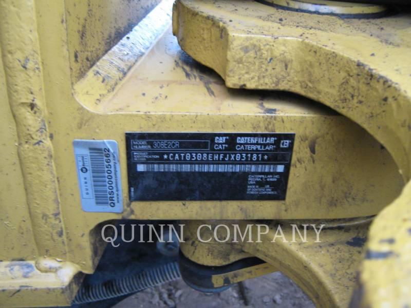 CATERPILLAR EXCAVADORAS DE CADENAS 308E2 equipment  photo 6
