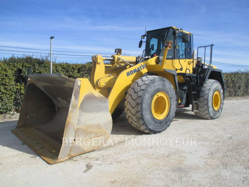 KOMATSU RADLADER/INDUSTRIE-RADLADER WA480.6 equipment  photo 1