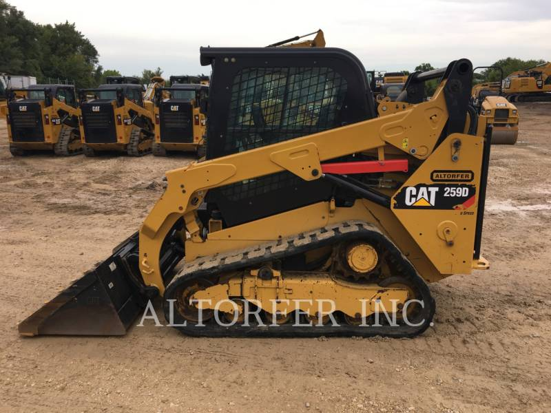 CATERPILLAR CHARGEURS COMPACTS RIGIDES 259D equipment  photo 6