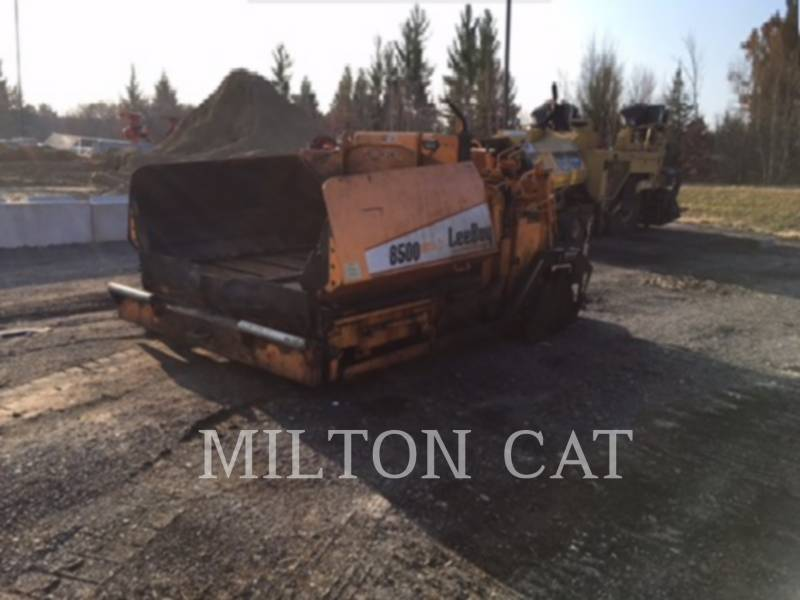 LEE-BOY ASPHALT PAVERS 8500LD equipment  photo 1