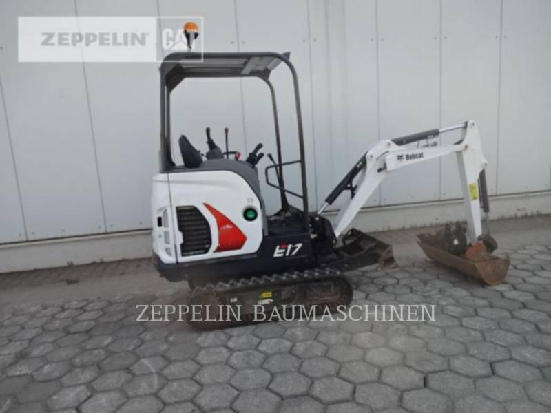 BOBCAT KETTEN-HYDRAULIKBAGGER E17 equipment  photo 6