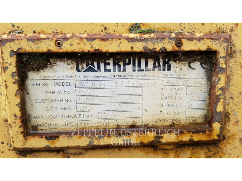CATERPILLAR WHEEL LOADERS/INTEGRATED TOOLCARRIERS 966 G II equipment  photo 14
