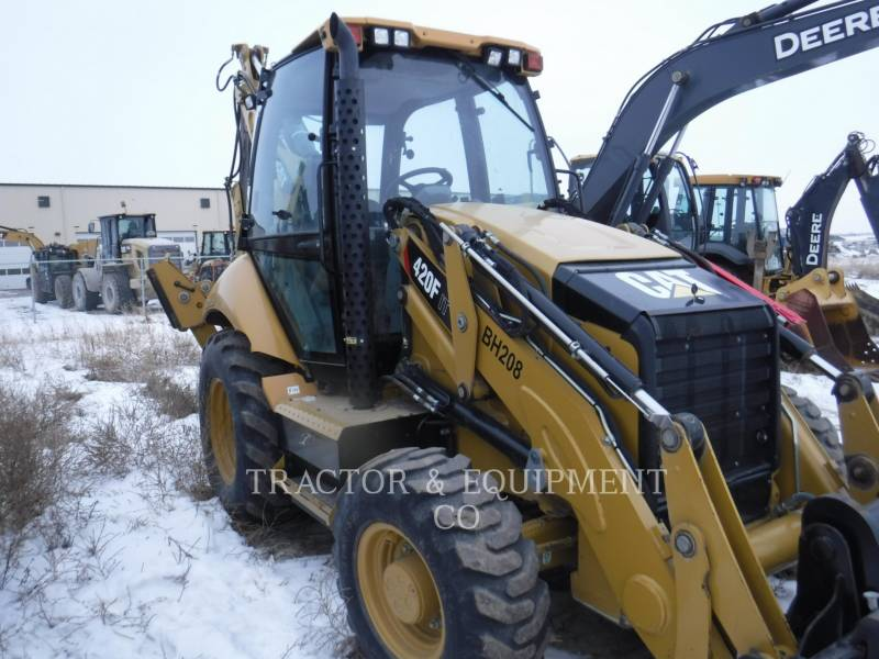 CATERPILLAR CHARGEUSES-PELLETEUSES 420F equipment  photo 8