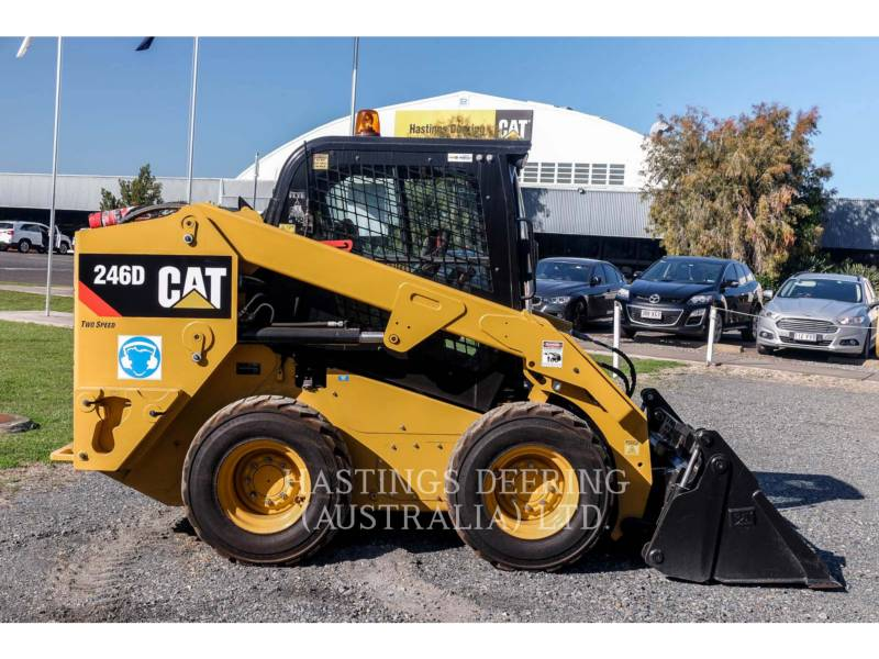 CATERPILLAR SKID STEER LOADERS 246DLRC equipment  photo 5