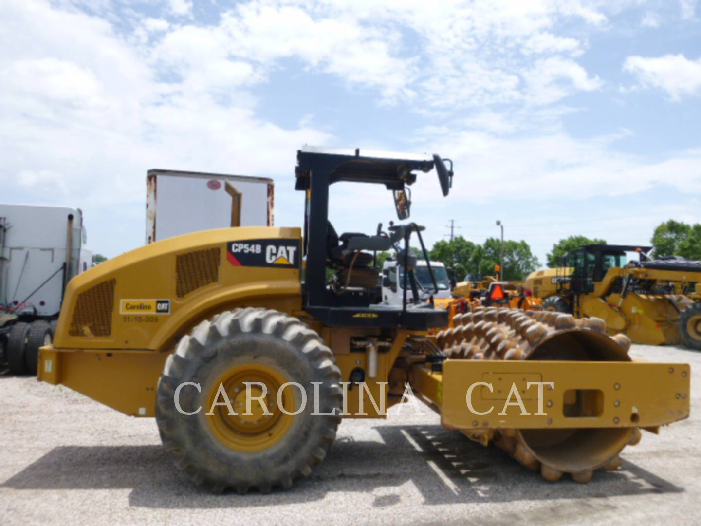 Detail photo of 2015 Caterpillar CP54 from Construction Equipment Guide