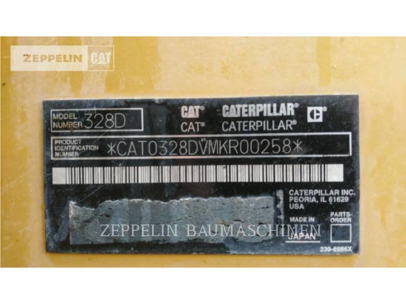 CATERPILLAR RUPSGRAAFMACHINES 328DLCR equipment  photo 6