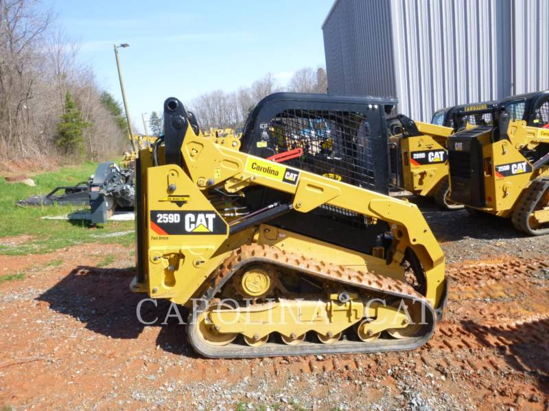 CATERPILLAR KETTENLADER 259D equipment  photo 5