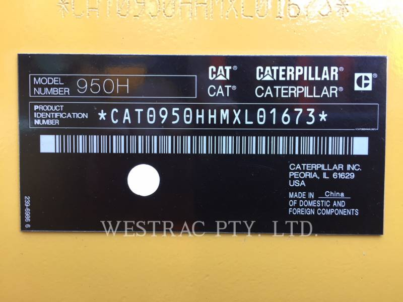 CATERPILLAR PALE GOMMATE/PALE GOMMATE MULTIUSO 950H equipment  photo 16
