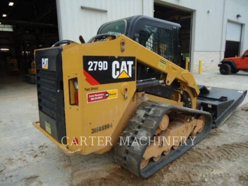 Caterpillar MINIÎNCĂRCĂTOARE RIGIDE MULTIFUNCŢIONALE 279D AC equipment  photo 2