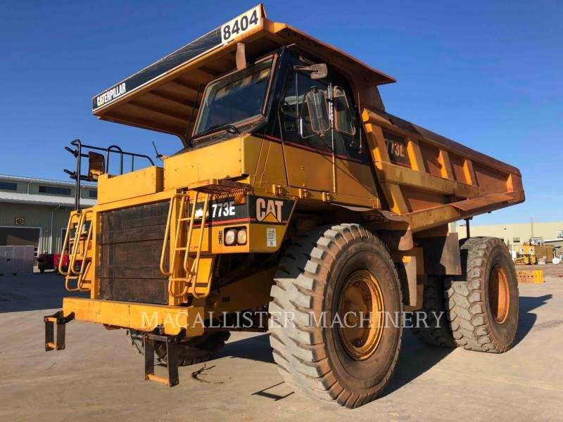 Caterpillar CAMIOANE PENTRU TEREN DIFICIL 773E equipment  photo 2