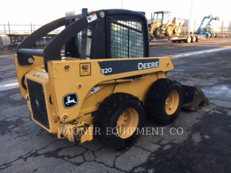 DEERE & CO. SKID STEER LOADERS 320 equipment  photo 3