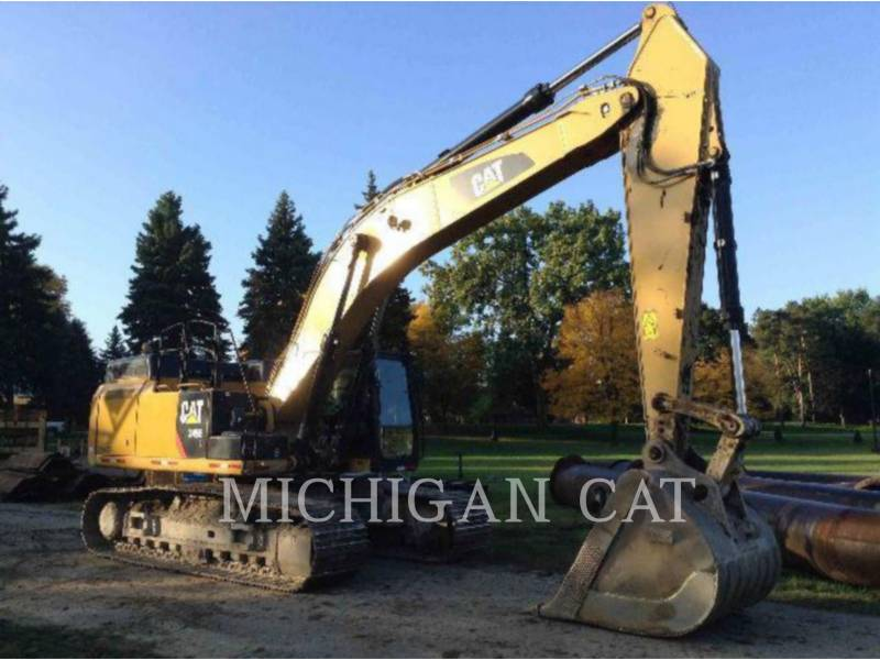 CATERPILLAR TRACK EXCAVATORS 349EL Q equipment  photo 2