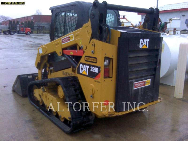 CATERPILLAR MINICARGADORAS 259D W equipment  photo 3