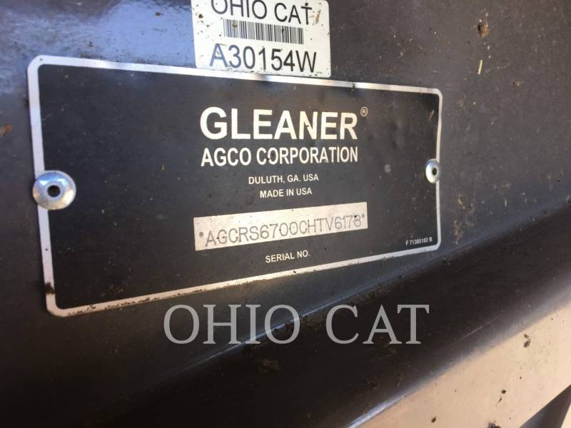 AGCO-GLEANER COMBINES S67 equipment  photo 13