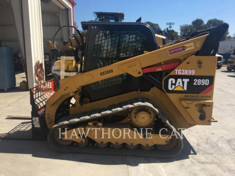 CATERPILLAR SKID STEER LOADERS 289D equipment  photo 2