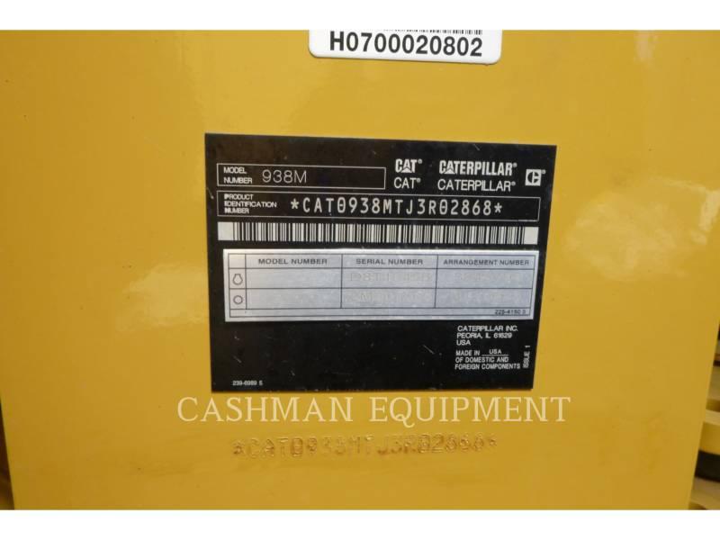 CATERPILLAR 轮式装载机/多功能装载机 938M equipment  photo 13