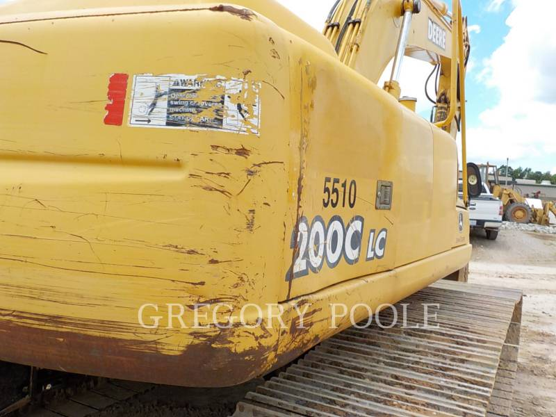 JOHN DEERE ESCAVADEIRAS 200C LC equipment  photo 12