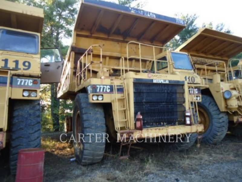 CATERPILLAR TOMBEREAUX RIGIDES POUR MINES 777C equipment  photo 1